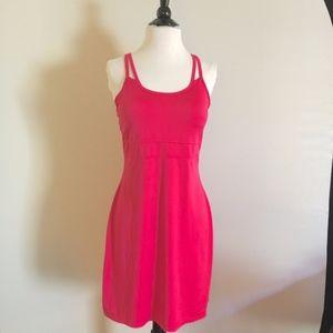 GAIAM Pink Racer Back Yoga Cardio Dress Size S.